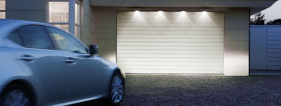 Garagen-Sektionator mit LED