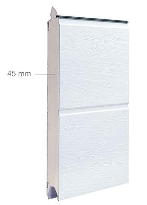 Garagen-Sektionaltor Dämmung (ISO 45)